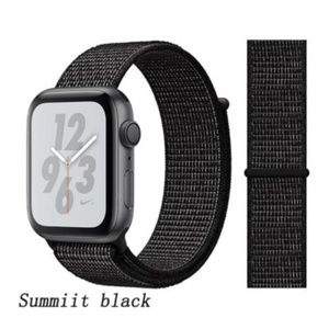 ❤️NEW Black Sport Loop Band For Apple Watch